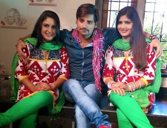 "Rakesh Mishra busy in shooting of ""Barsaat"" With Neha Shree and Apurva Bit"