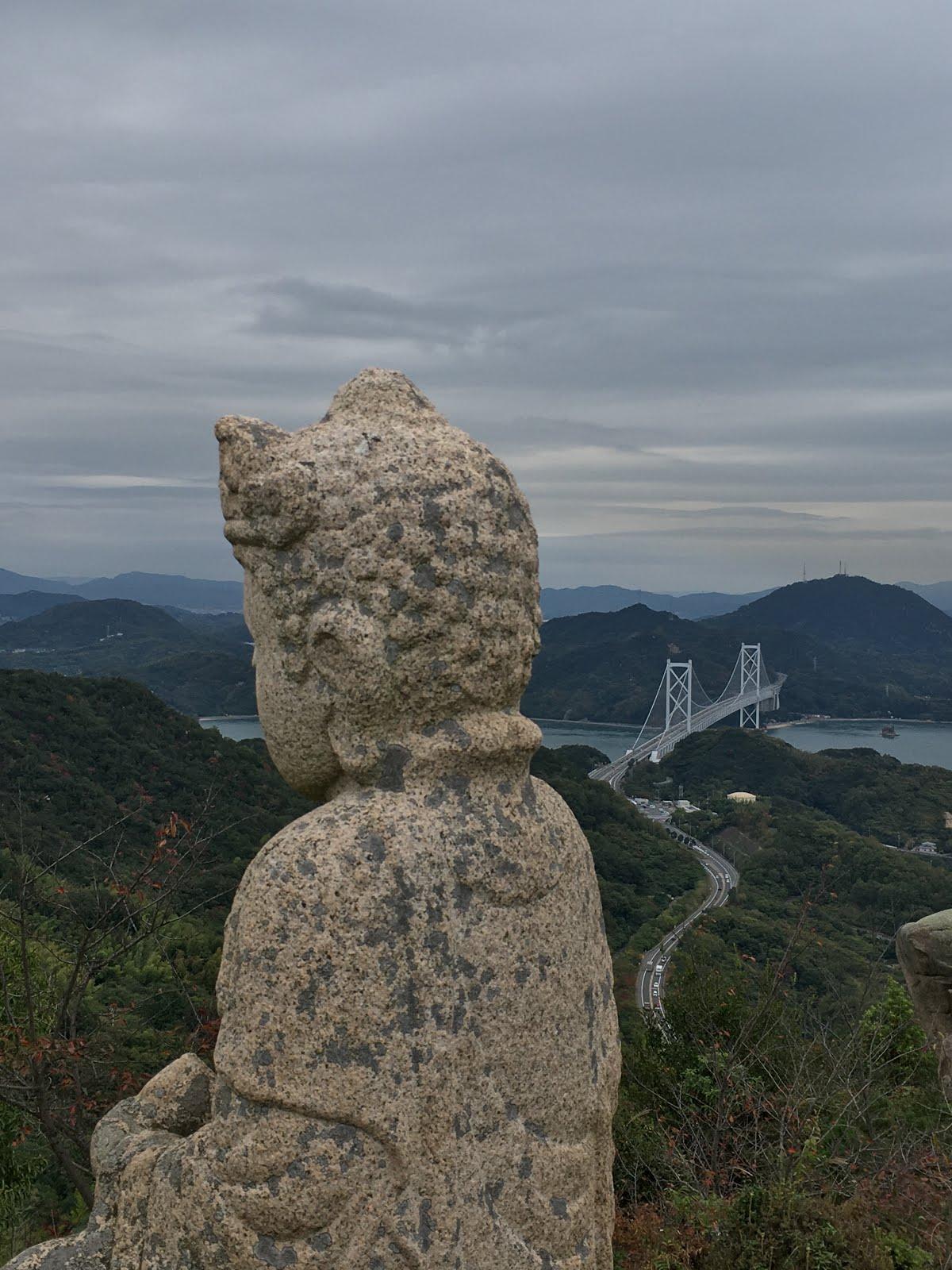 因島白滝山!