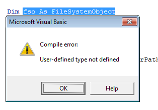 Using VBA FileSystemObject FSO in Excel  Easy Overview