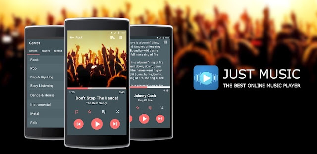 Just Music Player Pro v5.53 Apk Miki