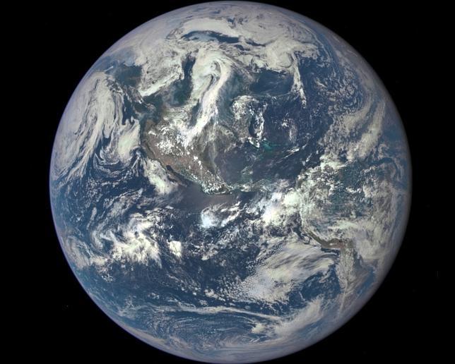 Imagen completa de la tierra
