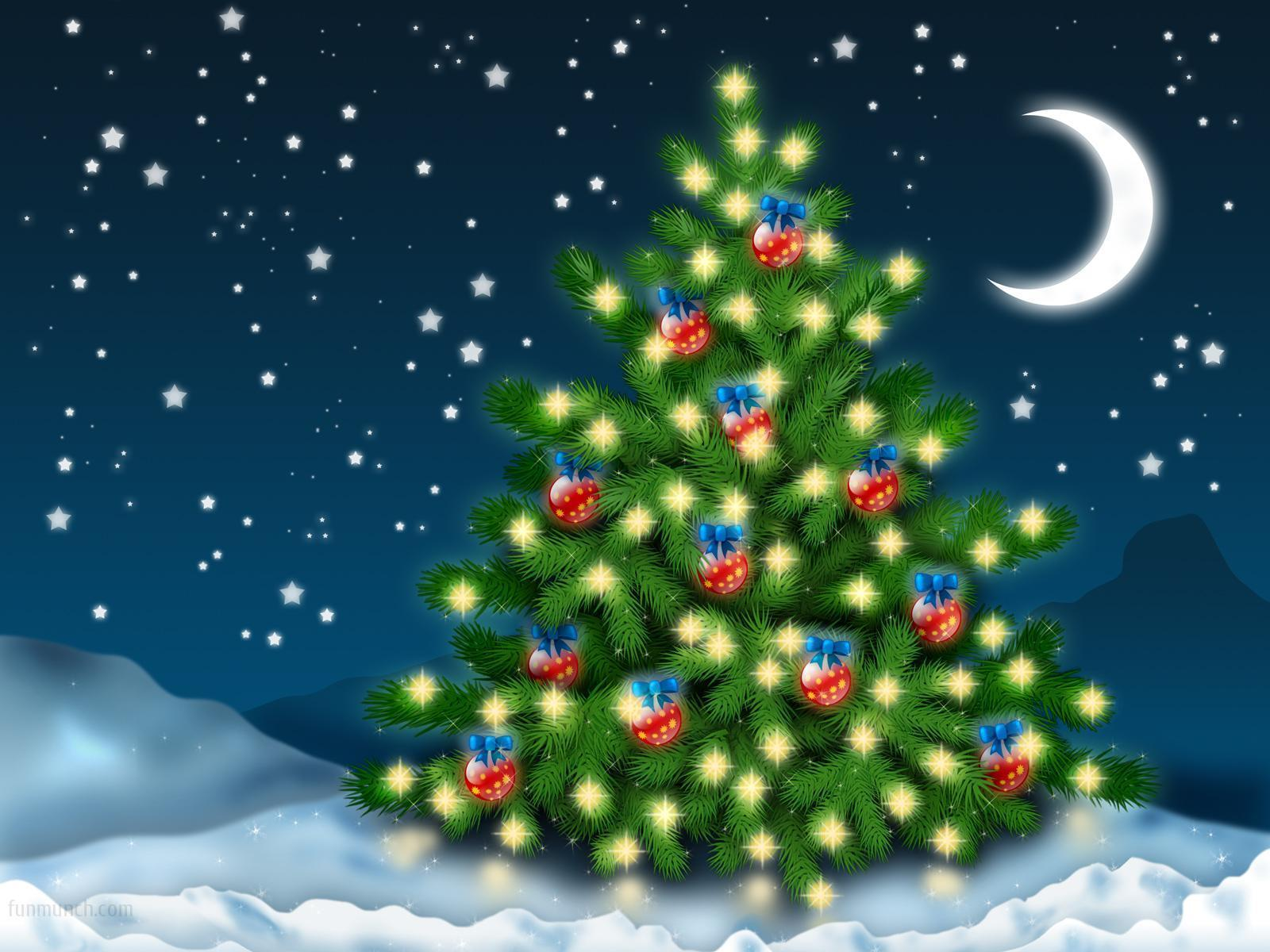 christmas wallpaper with bright - photo #5