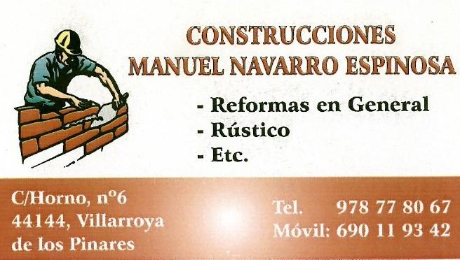 Construcciones Manuel Navarro Espinosa