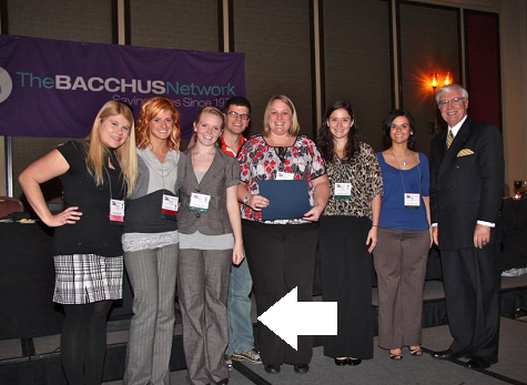 bacchus award ceremony
