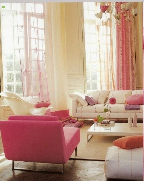 sala feminina cortinas