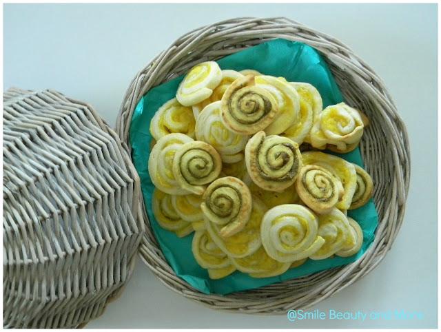 pinwheel cookies con crema di pistacchi e limoni