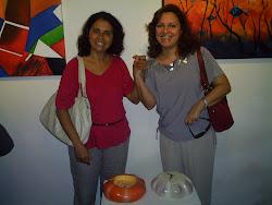 Artistas  Visuais:  Fátima  Soar e Marlene  Martins
