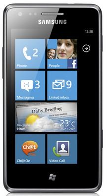 Samsung Omnia M S7530 Windows