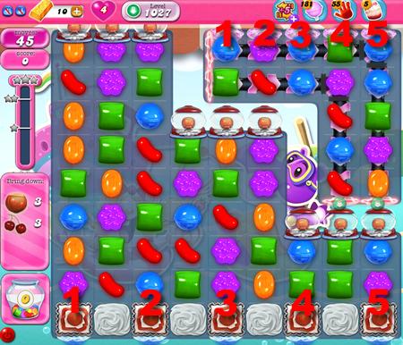 Candy Crush Saga 1027