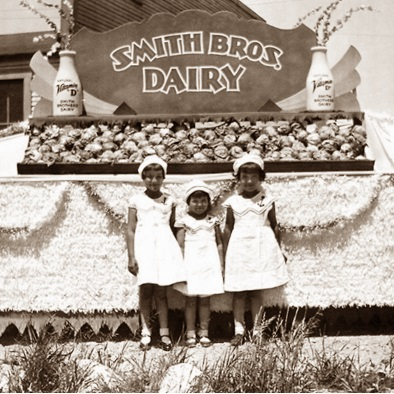 Smith Brothers Parade Float
