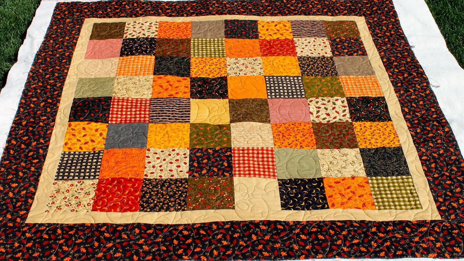 Latimer Lane: Client Quilts : fall quilt - Adamdwight.com