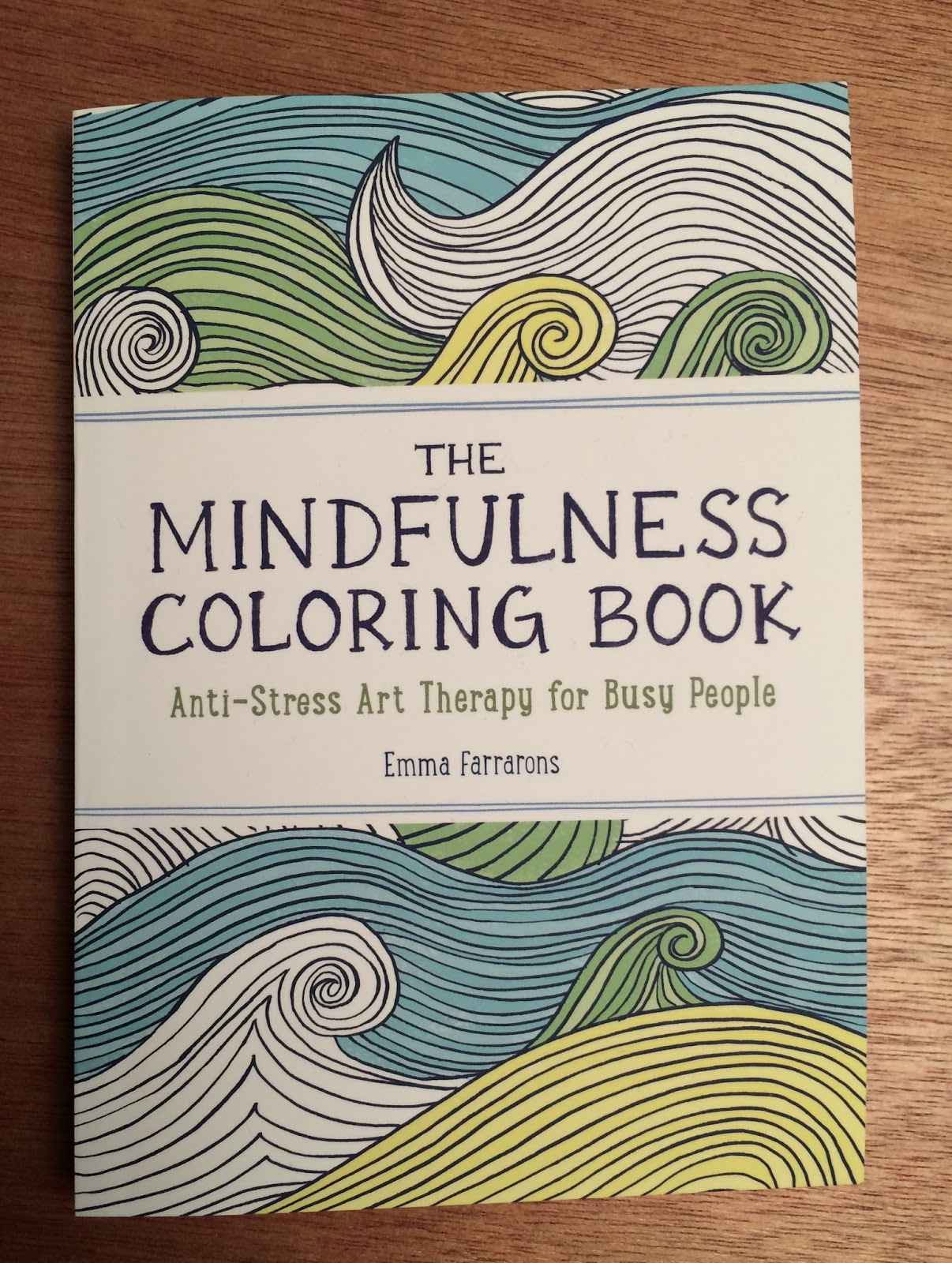 Little book of coloring for mindfulness - Another Great Christmas Gift Was The Mindfulness Coloring Book From Paul It S A Sweet Little Book Full Of Patterns And Designs To Color And Play With
