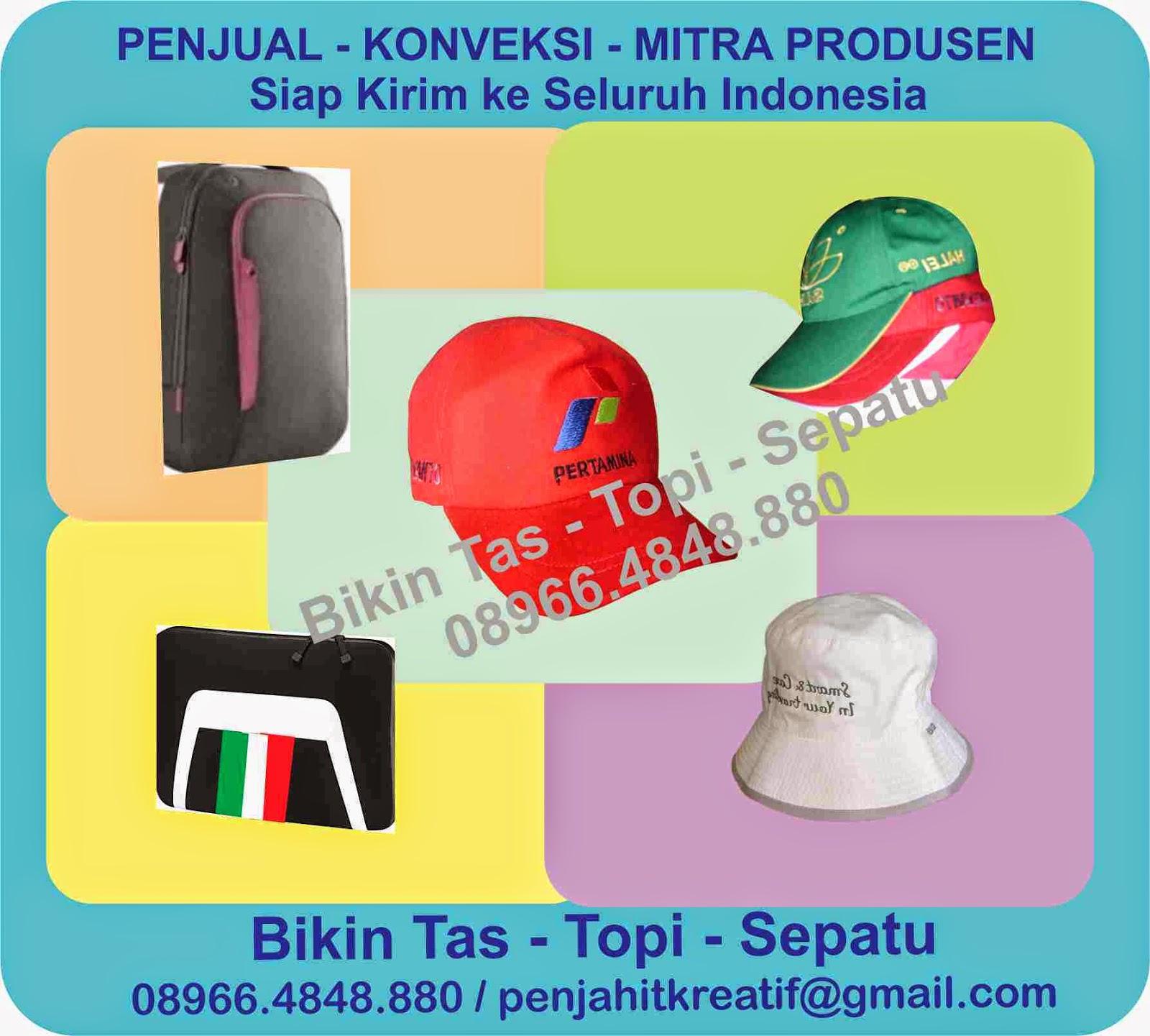 Pesan Tas Promosi - Topi promosi di Surabaya - 089664848880