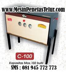Mesin Penetas Telur Type C100