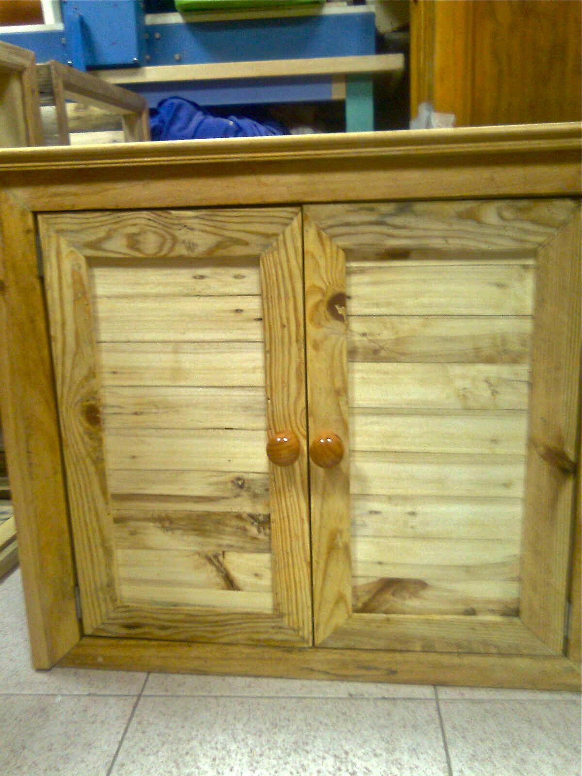 Apafam nuestra tienda muebles a medida con madera reciclada for Muebles de cocina con palets