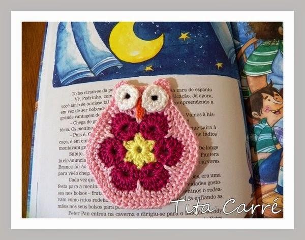 Coruja de Flor África- African Flower Owl  nas histórias de Dona Benta