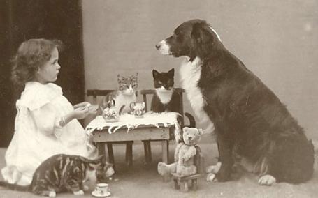 Mystery Fanfare Victorian Tea Party