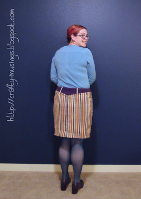 Simplicity 3754, rearview
