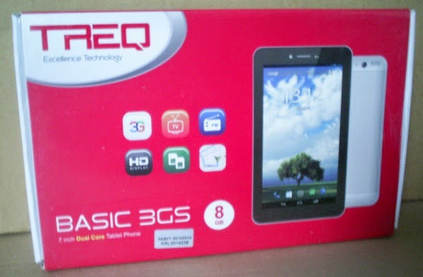 TABLET ANDROID GAME MURAH TREQ BASIC 3GS