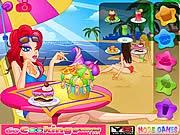 Đồ uống bãi biển, chơi game lam banh hay tại gamevui.biz