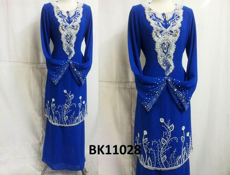 Baju Kurung Moden Chiffon Terkini - Sz 36 -46 - RM200