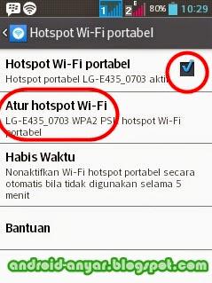 cara menjadikan HP Android sebagai mesin router