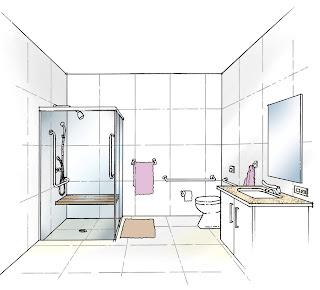 Desenho como desenhar Banheiro modelo   pintar e colorir
