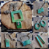 Pequeñas Joyas Colección Morocco Verde