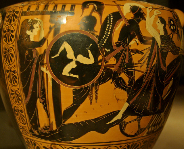 a comparison of achilles and hectors honor and pride in the iliad In the iliad, hector the desire to achieve ever-lasting honor was that wound was fatal yet that wound also allowed hector to speak to achilles hector.