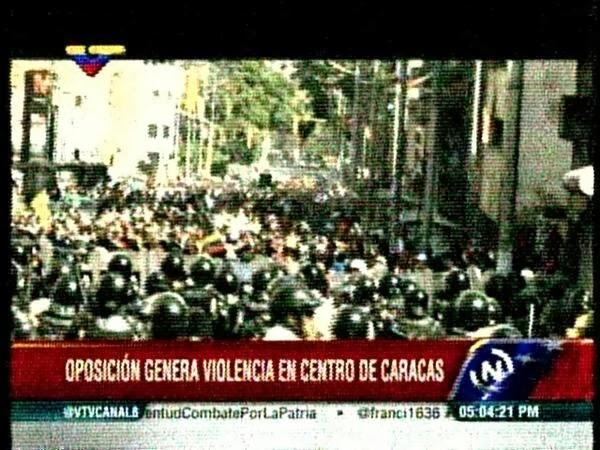 Manifestaciones violentas en Venezuela - 12F