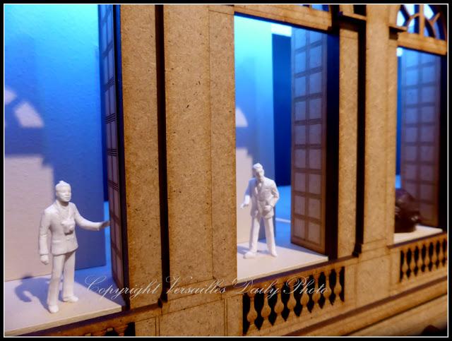 Maquette Château de Versailles Art et Chocolat Mingei