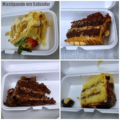 Doce Vanilla: Fatias de Tortas Doces