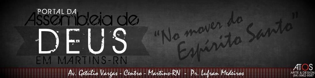 Assembleia de Deus - Martins-RN