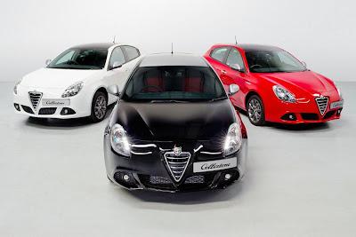Alfa Romeo Giulietta Collezione (2013) Range