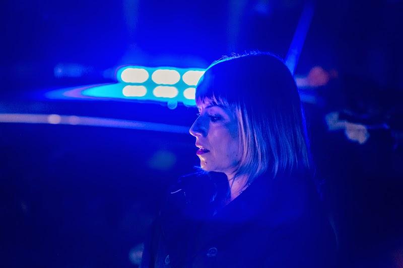 Suspects: Martha (Fay Ripley) at the second crime scene