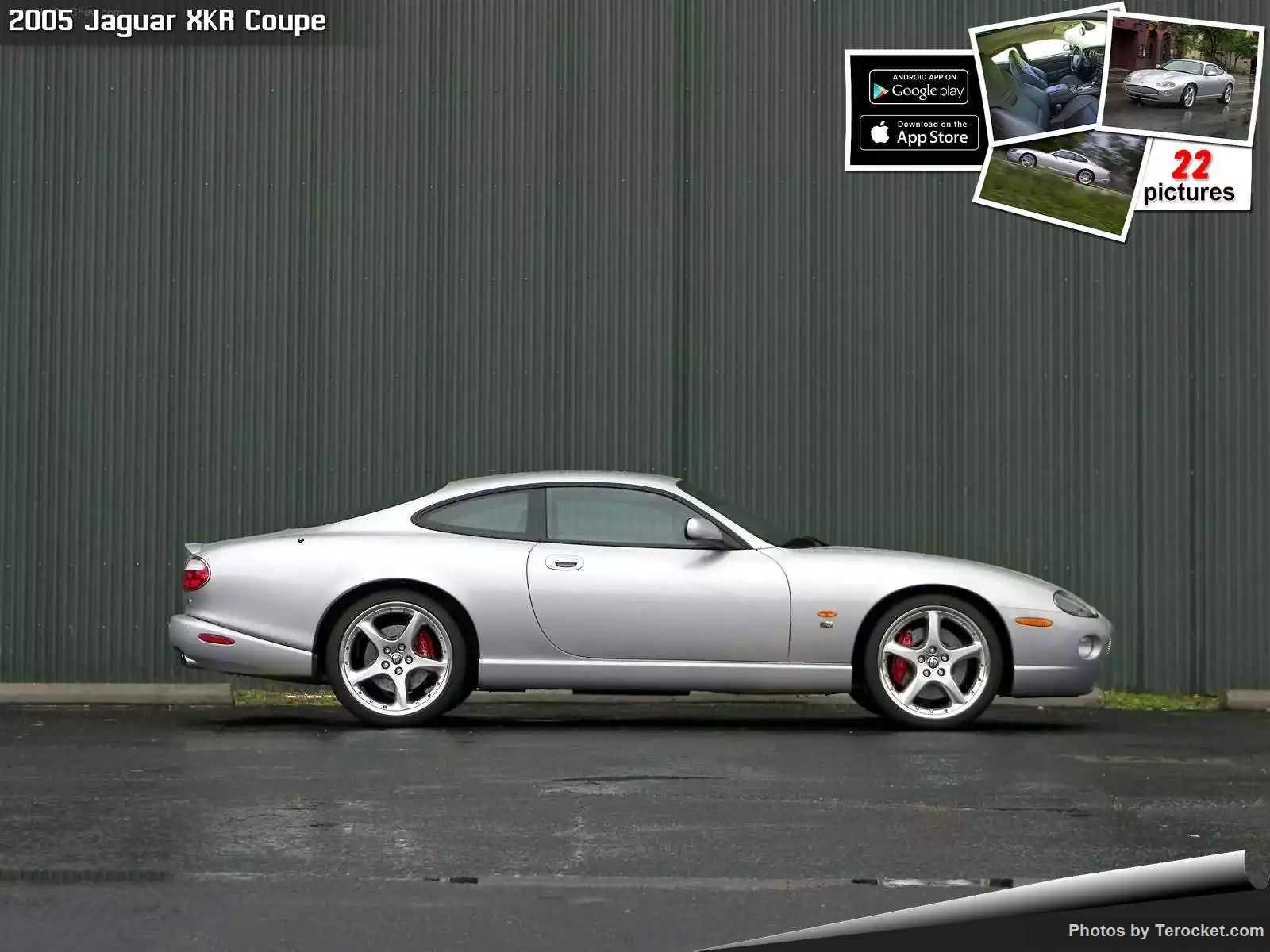 Hình ảnh xe ô tô Jaguar XKR Coupe 2005 & nội ngoại thất