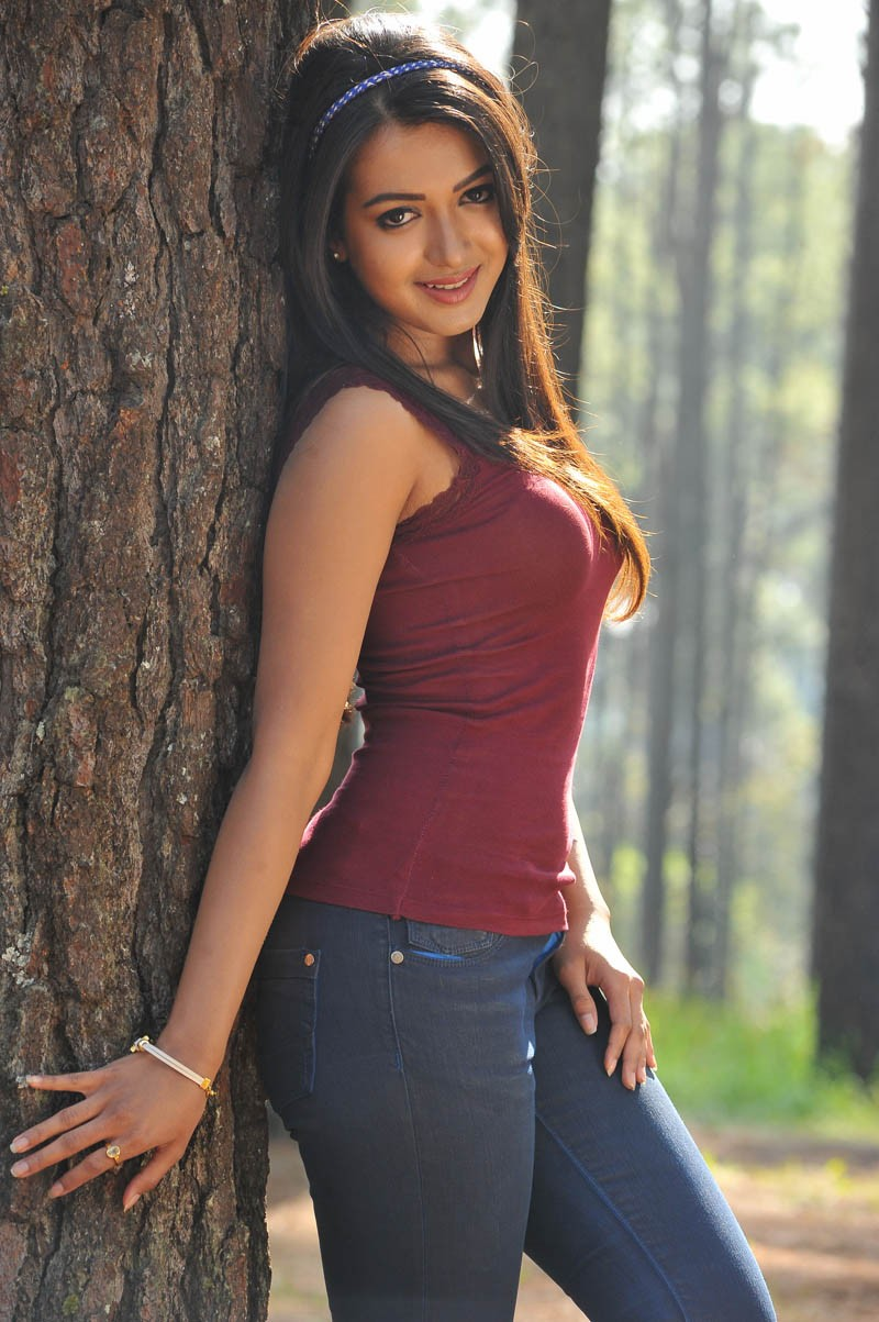 high quality actress catherine tresa hot hq photos from iddarammayilatho