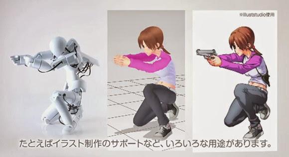 Robot Pembantu Animasi Komputer