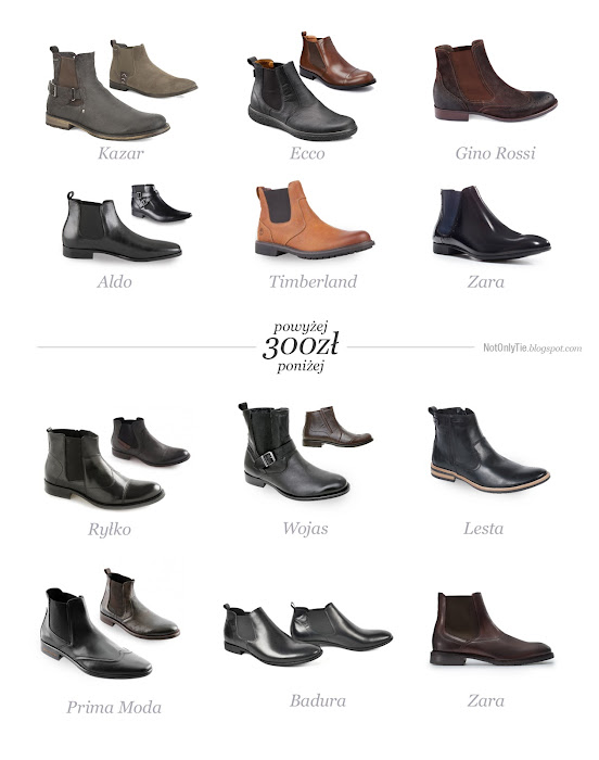 buty, styblety, chelsea boots, boots, kazar, ryko, ecco, lesta, wojas, badura, prima moda