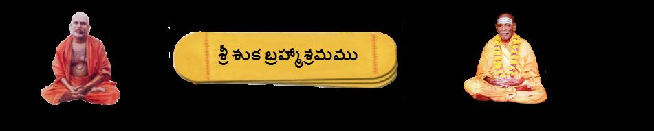 శ్రీ శుకబ్రహ్మాశ్రమము