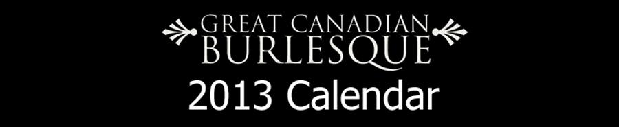 The 2013 GCB Calendar!