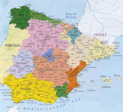 Map of Spain Region Political (map of spain region political)