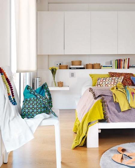 Idea Dekorasi Warna-warni Apartment Putih ~ EKSPRESIRUANG