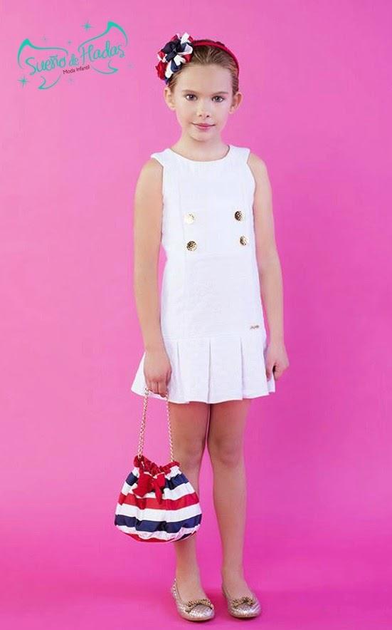 vestido blanco niña - Sanmar