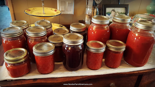 Canned goods Homemade Grape Jelly  www.hensleefarmadventures.com