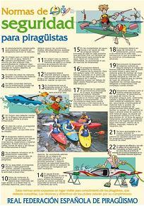 NORMAS DE SEGURIDAD PARA PIRAGUISTAS