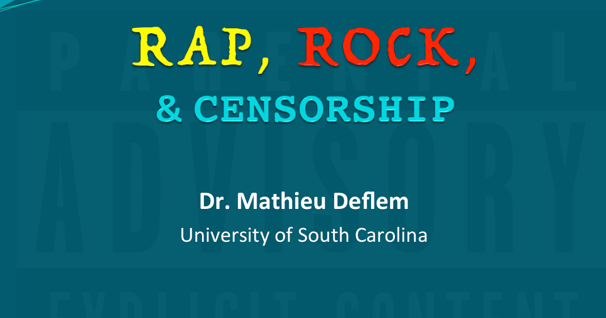 essays censorship of rap music Today's rap music reflects its origin in the hip-hop culture of young, urban, working-class african-americans, its roots in the african oral tradition, its function as the groups have attempted to set up musical rating systems, parental advisory warnings, and outright censorship of albums that contain lyrics or images that could.
