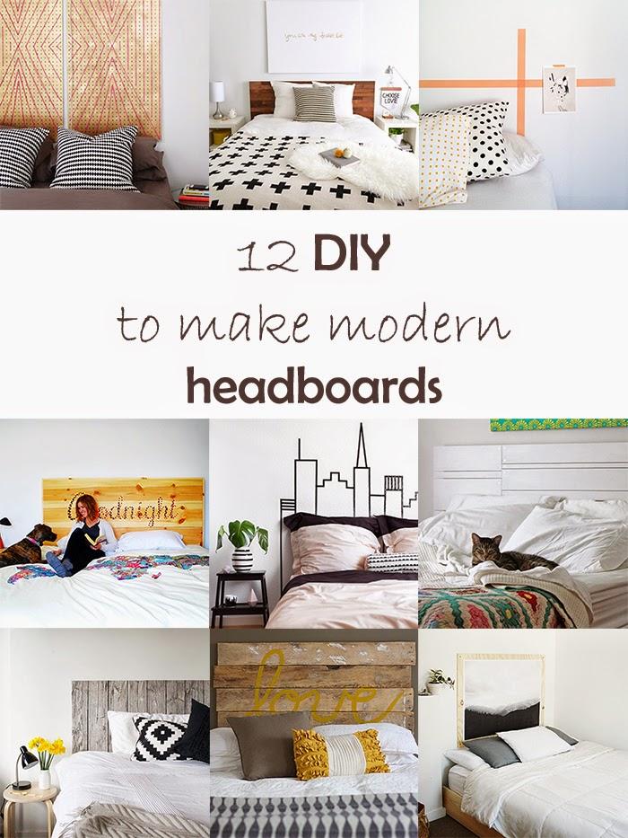 DIY Monday # Headboard