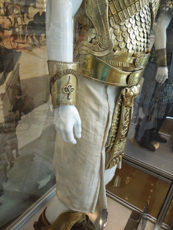 Ramesses II Exodus movie costume detail
