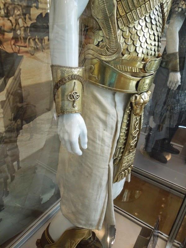 Ramesses II Exodus movie costume detail